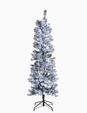 Ev Beyaz Karlı Çam Ağacı 180cm