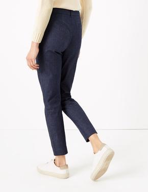 Kadın Mavi Denim Mia Slim Pantolon