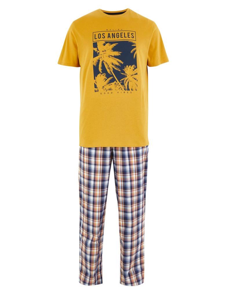 Erkek Multi Renk Ekose Pijama Altı