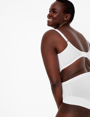 Kadın Beyaz 2'li Smoothing Küçültücü Özellikli Full Cup Sütyen Seti