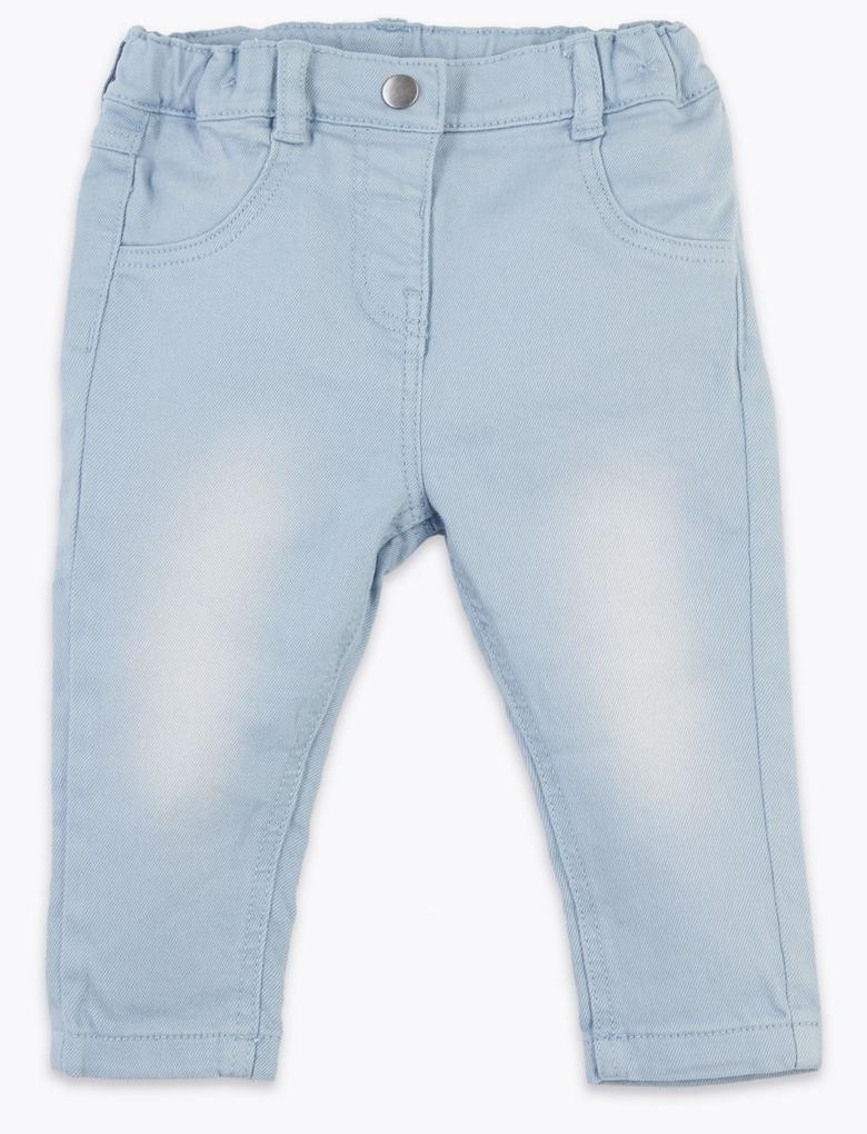 Bebek Mavi Mavi Jean Pantolon