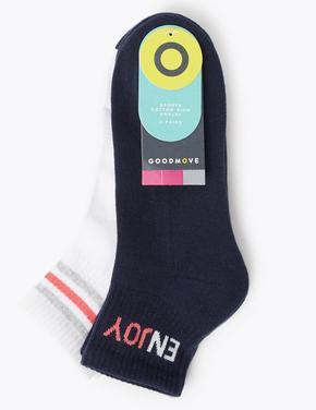 Kadın Lacivert 2'li Soket Çorap Seti