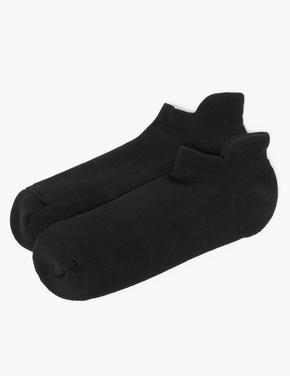 Kadın Siyah 2'li Trainer Çorap Seti