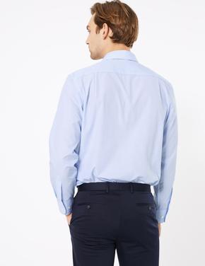 Erkek Mavi 2'li Çizgili Gömlek Seti