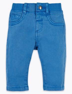 Bebek Mavi Jean Pantolon
