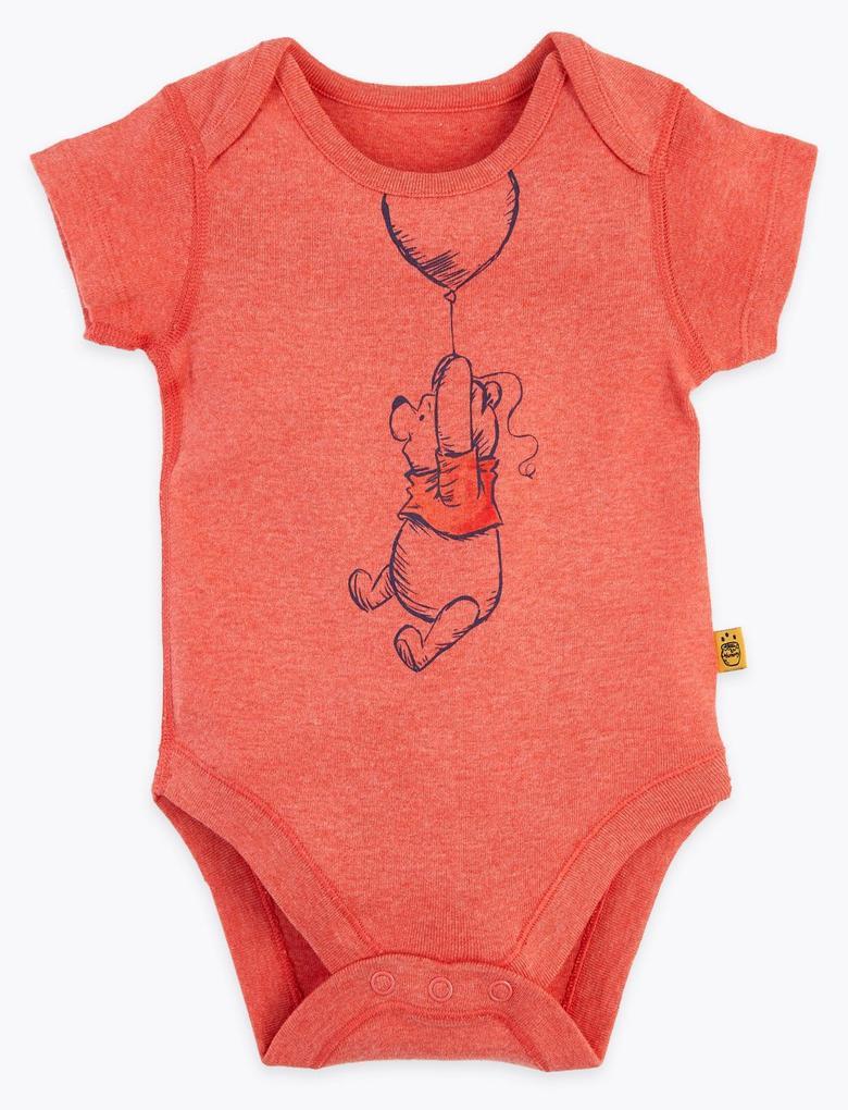 Bebek Pembe 3'lü Winnie the Pooh & Friends™ Body Seti