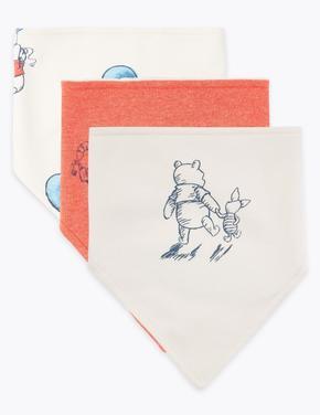 Bebek Pembe 3'li Winnie the Pooh & Friends™ Önlük Seti