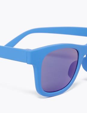Çocuk Mavi Wayfarer Güneş Gözlüğü