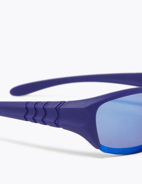 Çocuk Lacivert Sportif Güneş Gözlüğü