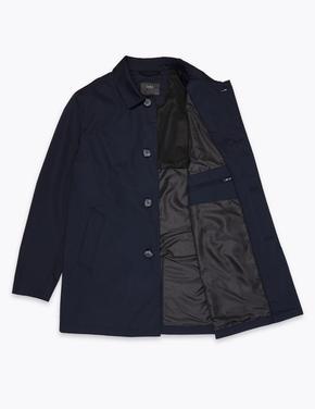 Erkek Lacivert Stormwear™ Trençkot