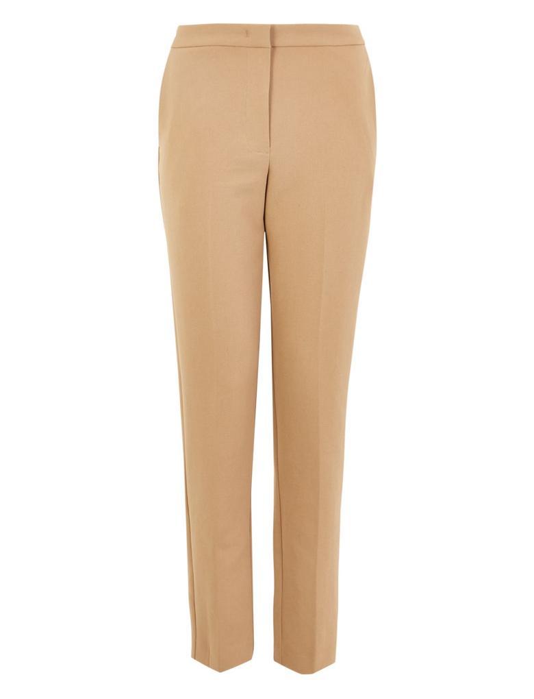 Kahverengi Yüksek Belli Pantolon