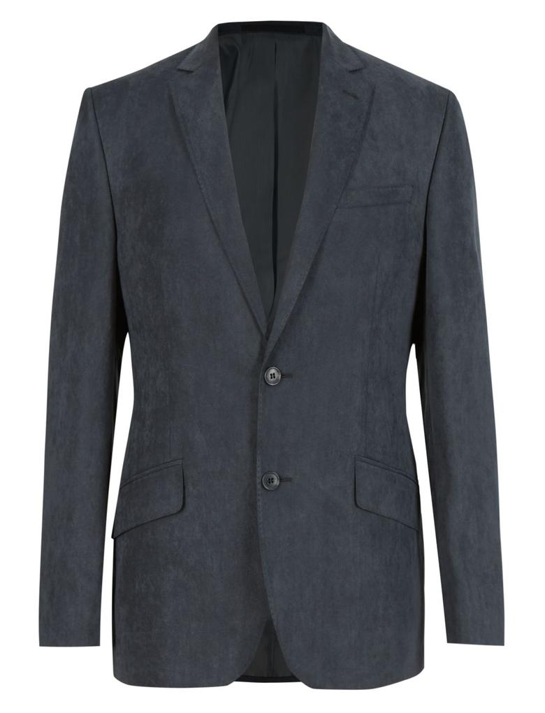 Gri Çift Düğmeli Ceket
