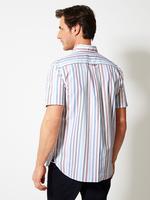Erkek Kırmızı Kısa Kollu Gömlek