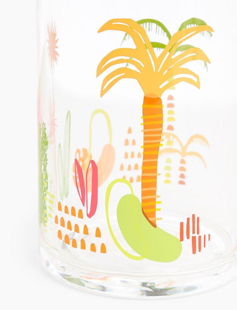 Ev Multi Renk Jungle Desenli Sürahi