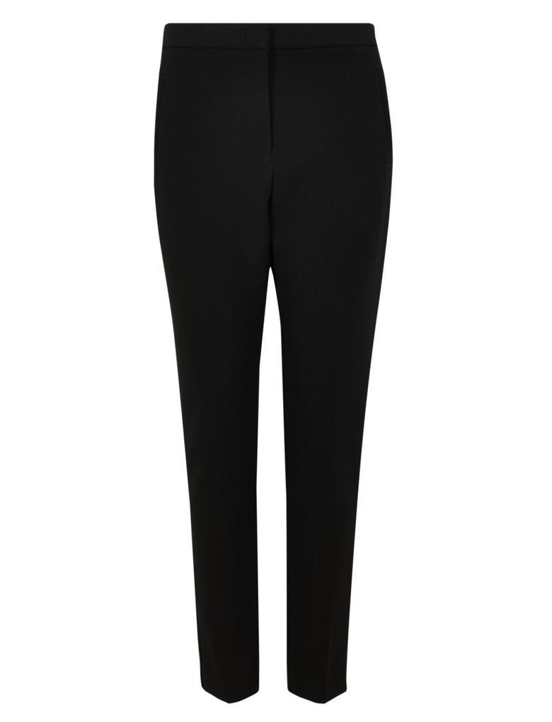 Siyah Tailored Ankle Grazer Pantolon