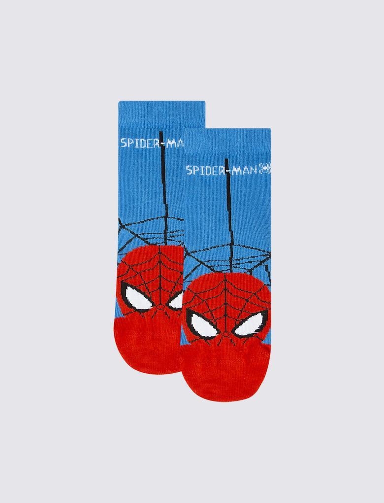 Çocuk Multi Renk 3'lü Spider-Man™ Çorap Seti