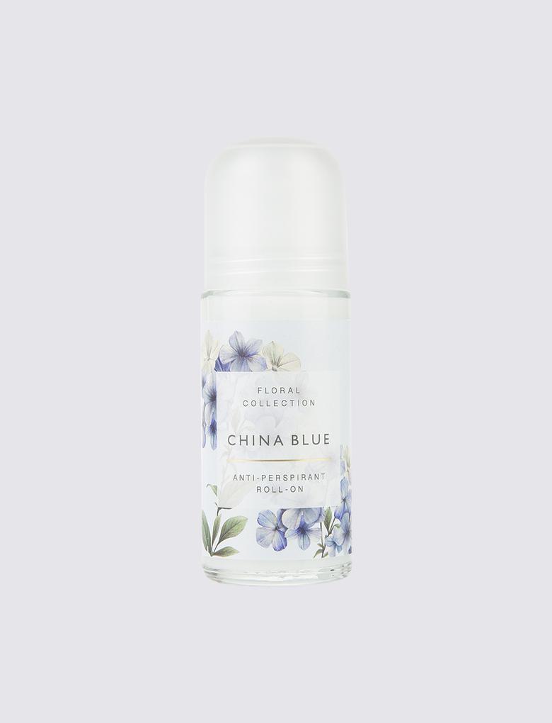 Kozmetik Renksiz China Blue Roll-on Deodorant