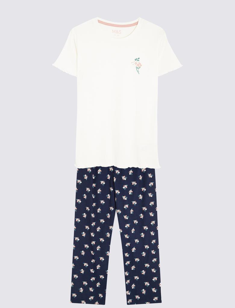 Çocuk Multi Renk 2'li Pijama Seti