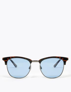 Erkek Kahverengi D Çerçeveli Polarize Güneş Gözlüğü