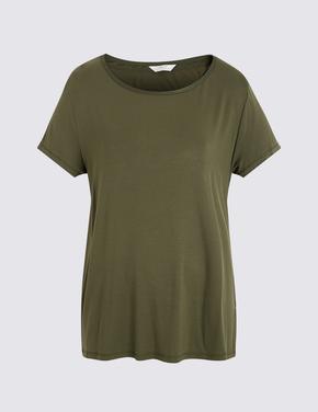 Kadın Yeşil Kısa Kollu Pijama Takımı