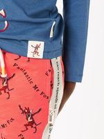 Erkek Çocuk Turuncu Roald Dahl™ & NHM™ Desenli Şort