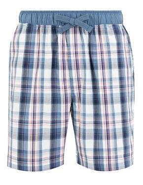 Erkek Multi Renk Ekose Şort Pijama Altı