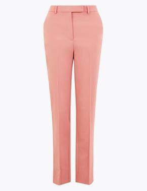 Kadın Turuncu Mia Slim Fit Pantolon