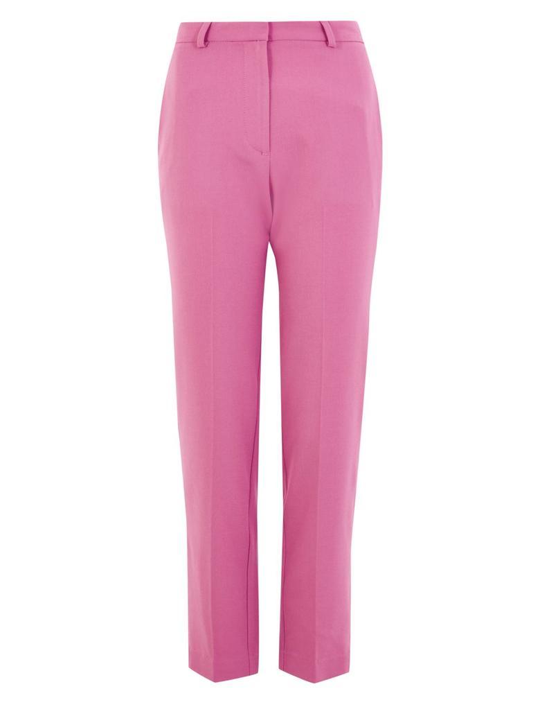 Kadın Mor Slim Leg Ankle Pantolon