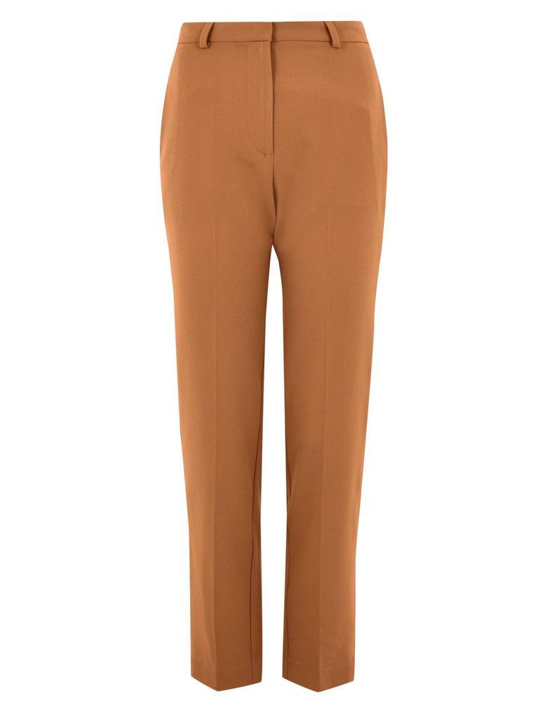 Kadın Kahverengi Slim Leg Ankle Pantolon
