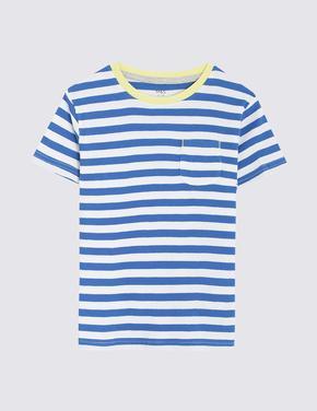 Erkek Çocuk Multi Renk 3'lü Panda Desenli T-Shirt Seti