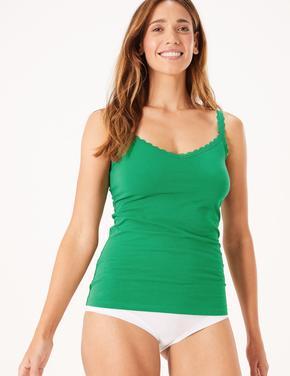 Yeşil Dantelli Atlet