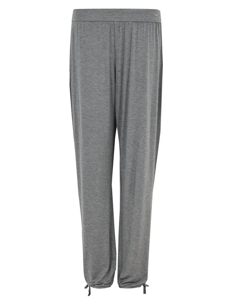 Kadın Gri Paçaları Lastikli Pijama Altı