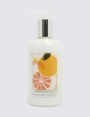 Kozmetik Renksiz Limon ve Portakal Çiçeği El ve Vücut Losyonu