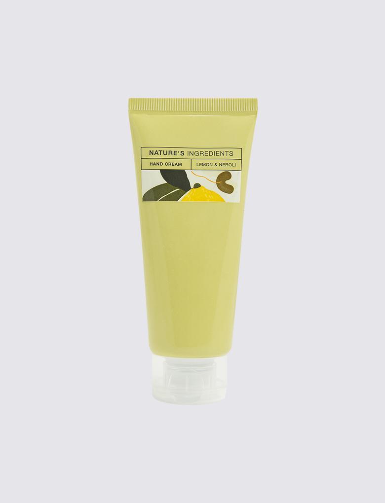 Kozmetik Renksiz Limon ve Portakal Çiçeği El Kremi