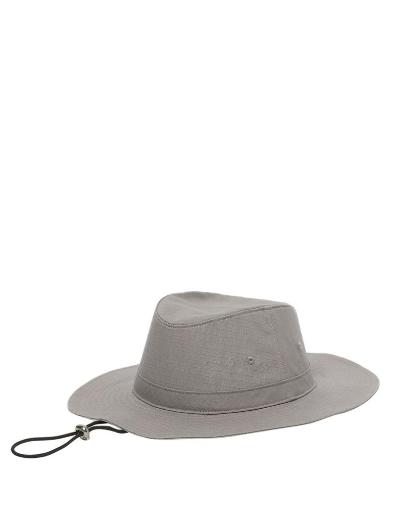 Erkek Gri Saf Pamuklu Fötr Şapka