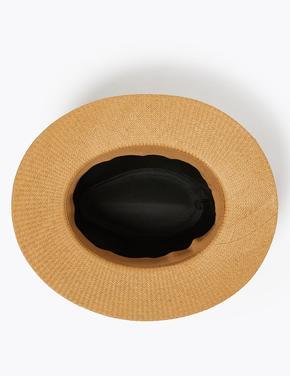 Erkek Kahverengi Hasır Şapka