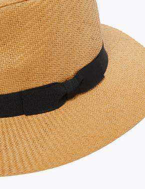 Erkek Kahverengi Dokulu Fötr Şapka