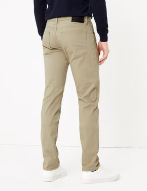 Gri Slim Fit Jean Pantolon