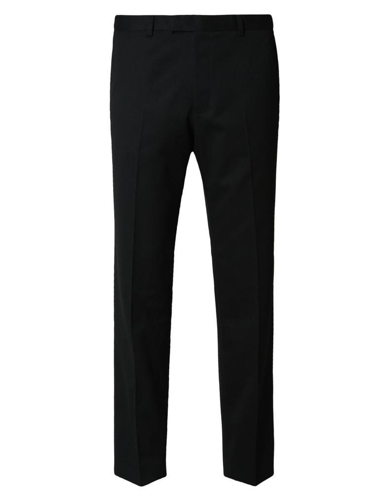 Erkek Siyah Regular Fit Pantolon