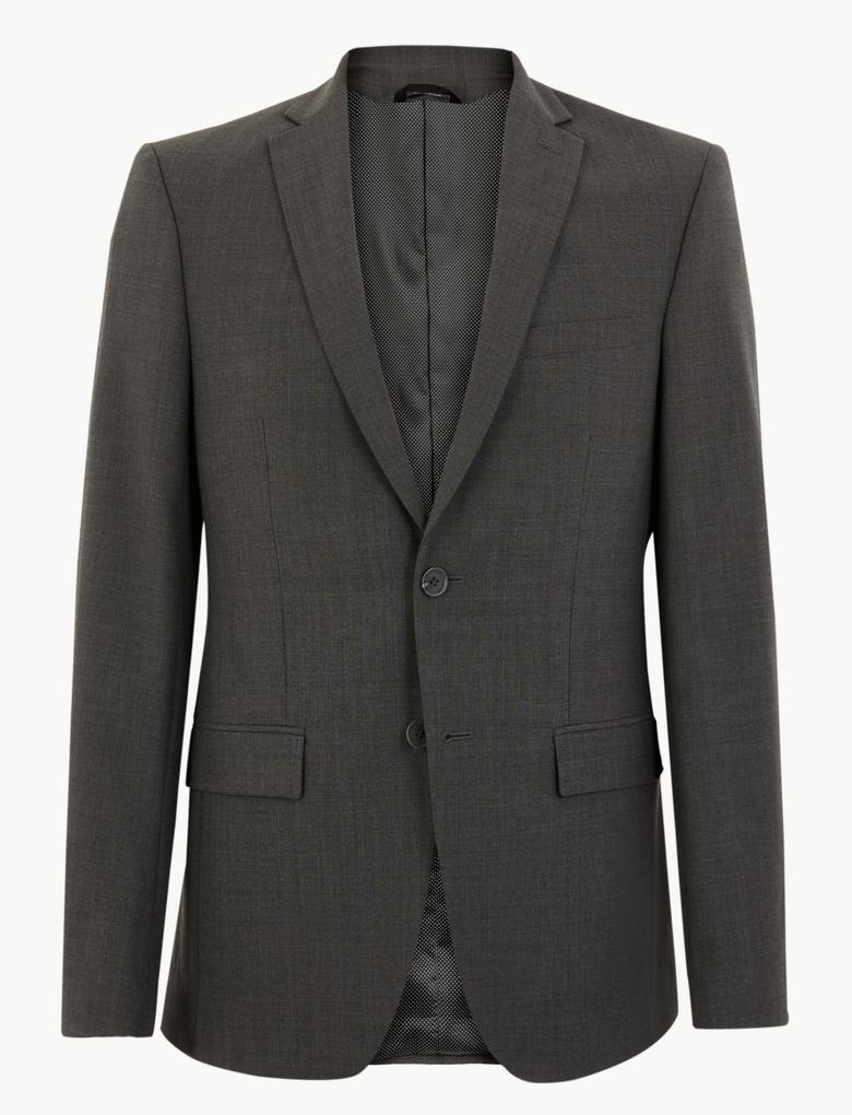 Erkek Gri The Ultimate Tailored Fit Ceket