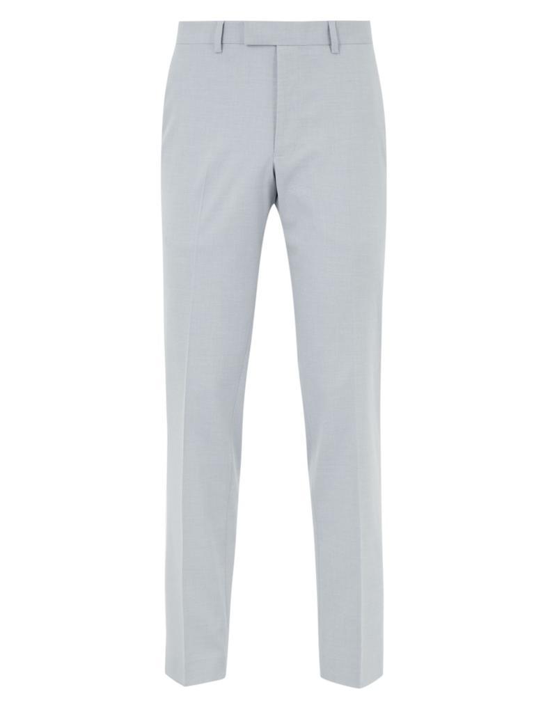 Erkek Gri Tailored Fit Pantolon
