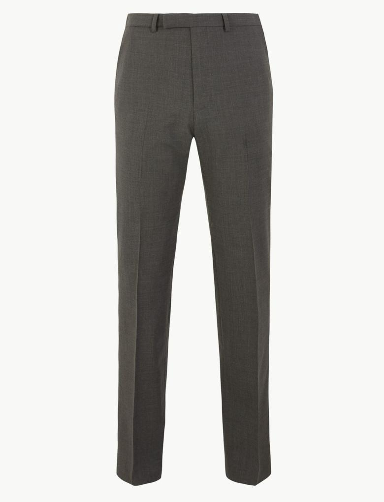 Erkek Gri The Ultimate Tailored Fit Pantolon