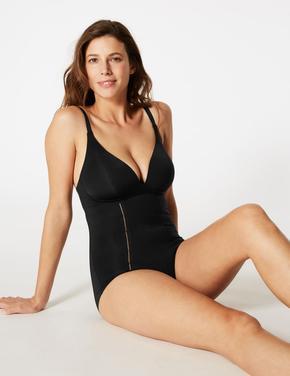 Siyah Secret Slimming™ Vücut Şekillendirici Body