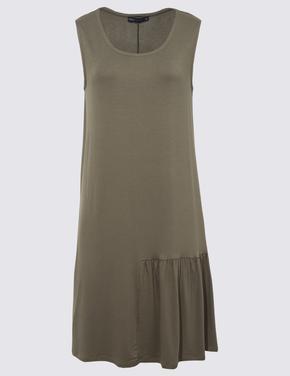 Kadın Yeşil Swing Plaj Elbisesi