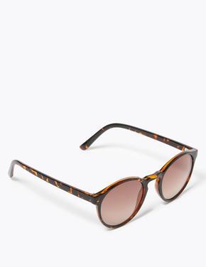 Kadın Kahverengi Mini Güneş Gözlüğü