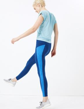 Kadın Mavi Go Move  Spor Taytı