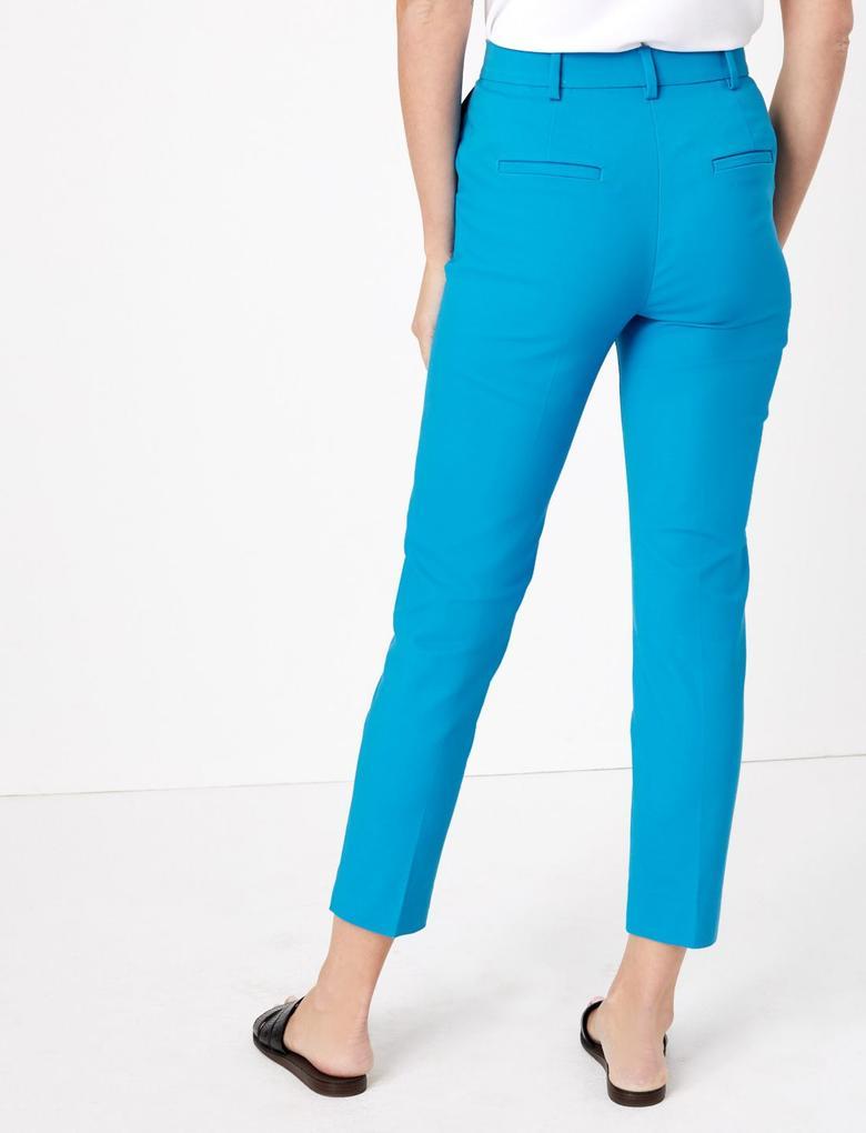 Mavi Slim Fit Ankle Grazer Pantolon