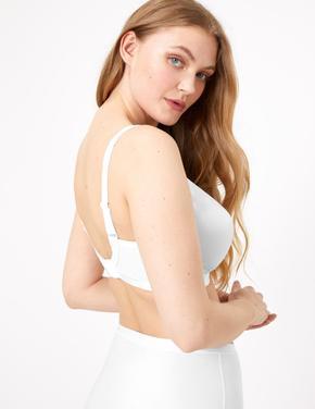 Kadın Beyaz 2'li Full Cup Küçültücü Sütyen Seti