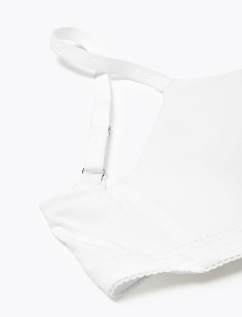 Kadın Beyaz Flexifit™ Balenli Küçültücü Sütyen