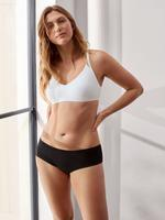 Kadın Siyah Flexifit™ Modal Düşük Belli Short Külot